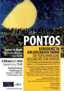 PONTOS- Die verschwiegene Geschichte von Pontos-Info- und Podiumsveranstaltung @ Stadtteilzentrum Familiengarten | Berlin | Berlin | Deutschland