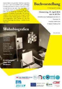 AusstellungseröffnungWohnbiographien (BANA) -Im Rahmen des Kiezthemas Wohnen