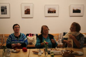 Club 2. Frühling Treffen älterer Migrantinnen