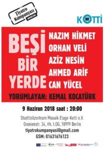 Besi Bir Yerde Theater im Stadtteilzentrum MosaikEtage @ Stadtteilzentrum MosaikEtage